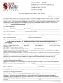 Second Hand Dealer License Application Form - Department Of Inspections And Permits - Anne Arundel County Maryland