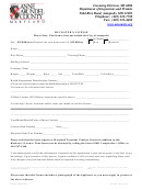 Huckster License Application Form - Department Of Inspections And Permits - Anne Arundel County Maryland