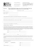 Foreign Trade Zone Personal Property Tax Credit Application Form - Office Of Finance - Anne Arundel County Maryland