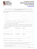 Bingo Manufacturer And Distributor License Application Form - Department Of Inspections And Permits - Anne Arundel County Maryland