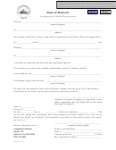 Form Tmsm 30 - Assignment Of Mark Registration