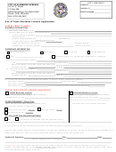 Out Of Town Business License Application Form - City Of Glenwood Springs