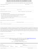 Ems Transport Hardship Waiver Application Form - Anne Arundel County Fire Department