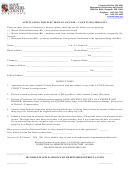 Electrical License Application (county Reciprocal) Form - Department Of Inspections And Permits - Anne Arundel County Maryland
