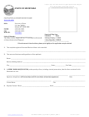 Cancellation Of Assumed Business Name Form - Montana Secretary Of State