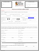 Special Exception Application - Anne Arundel County