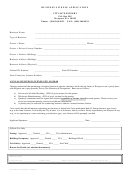 Business License Application Form - City Of Westport