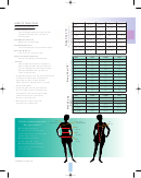 Size Chart (a & B)