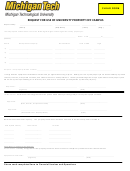 Request For Use Of University Property Off Campus Form