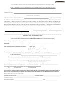 Authorization For Administering Prescription Medication Form