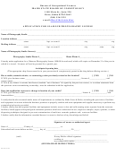 Application For Glamour Photography License Form - Bureau Of Occupational Licenses, State Of Idaho