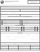 Form 8521 - Licensure Certification Request - Indiana Professional Licensing Agency