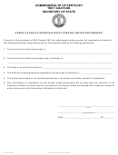 Form Flp-102 - Cancellation Of Registration Of Foreign Limited Partnership - Secretary Of State, State Of Kentucky
