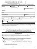 Form E-8 - Application For Extension Of Time To File Business Earnings Tax Return