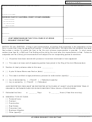 Joint Memorandum That Civil Case Is At-issue Form