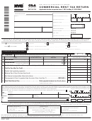 Form Cr-a - Commercial Rent Tax Return - 2015/16
