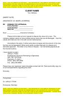Sample Demand For Appraisal Letter Template