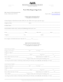 New Hire Reporting Form - Department Of Economic Security, Arizona