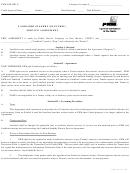 Form Pnm 756-426 - Landlord Standby Service Agreement - Pnm