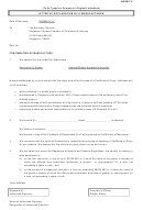 Annex Iv - Letter Of Declaration By A Manufacturer Form