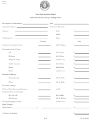 Form 133.2 - Public Information Charges - Billing Detail Form