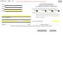 Form 0884 V2 - Quarterly Estimate Payment Form