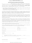 Executive Employee Affirmative Form - State Of New Mexico Workers' Compensation Administration