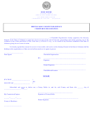 Irrevocable Consent For Service Charitable Organization Form - Attorney General, State Of Arkansas