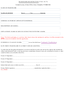Trademark Registration Form - Secretary Of State, State Of Vermont