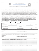 Uia 6102 Authorization To Release Confidential Information Form - Unemployment Insurance Agency