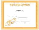 High School Certificate
