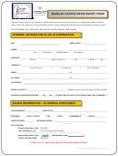Vanguard Manual Course Enrollment Form