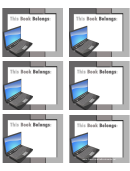 Technology Bookplates - Laptop