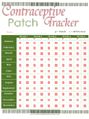 Contraceptive Patch Tracker