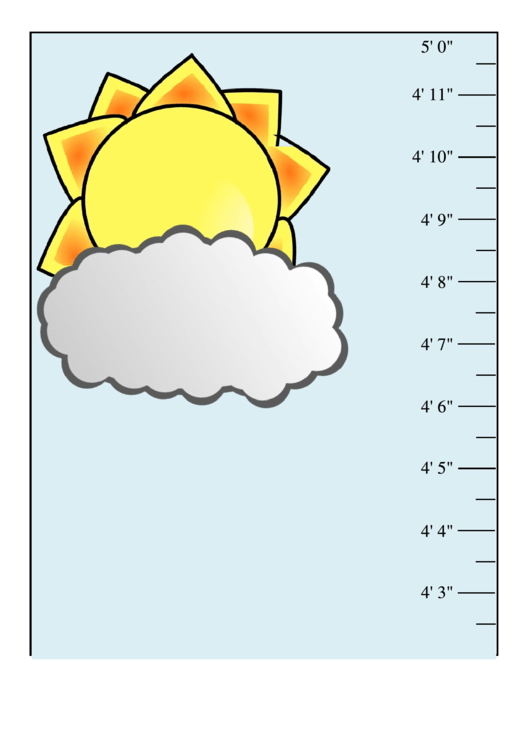 Child Height Tracker Template