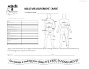Male Measurement Chart