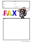 Ring Master - Fax Cover Sheet