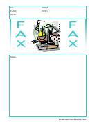 Justice - Fax Cover Sheet