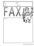 Hunter - Fax Cover Sheet
