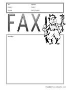 Hunter - Fax Cover Sheet