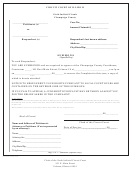 Summons Form - Circuit Court Of Illinois