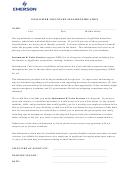 Post-offer Voluntary Self-identification Form