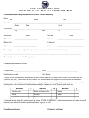 Student Health And Emergency Information Sheet - Gates Intermediate School