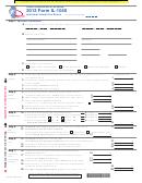 2012 Form Il-1040 - Individual Income Tax Return
