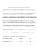 Consent To Employee Drug And/or Alcohol Testing Form