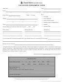 Volunteer Assessment Form