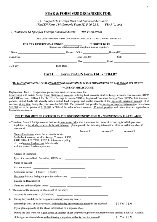 Irs form 8938 stock options
