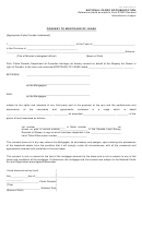 Form R3005 - Consent To Mortgage Of Lease - National Parks Documentation, Canada