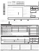 Form Cr-q1 - Commercial Rent Tax Return - 2007/08