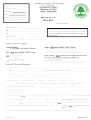 Renewal Business License Application Form